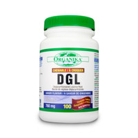 Organika DGL, 100 Chewable Tablets | NutriFarm.ca