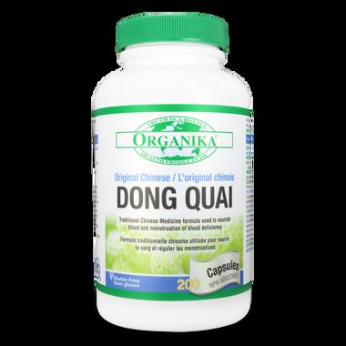 Organika Dong Quai, 200 Capsules   NutriFarm.ca