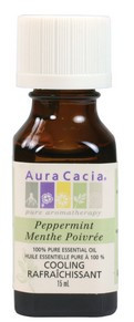 Aura Cacia Peppermint Oil, 15 ml | NutriFarm.ca