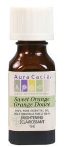 Aura Cacia Sweet Orange Oil, 15 ml | NutriFarm.ca