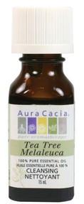 Aura Cacia Tea Tree Oil, 15 ml | NutriFarm.ca