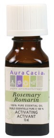 Aura Cacia Rosemary Oil, 15 ml | NutriFarm.ca
