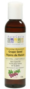 Aura Cacia Grapeseed Oil, 118 ml   NutriFarm.ca