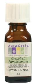 Aura Cacia Grapefruit Oil, 15 ml | NutriFarm.ca