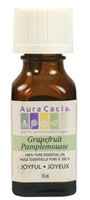 Aura Cacia Grapefruit Oil, 15 ml | NutriFarm.ca