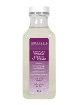 Aura Cacia Lavender Harvest Bubble Bath, 384 ml | NutriFarm.ca