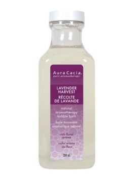 Aura Cacia Lavender Harvest Bubble Bath, 384 ml | NutriFarm.ca