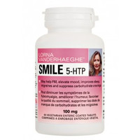 Lorna Vanderhaeghe Smile 5-HTP, 60 Enteric-Coated Tablets | NutriFarm.ca
