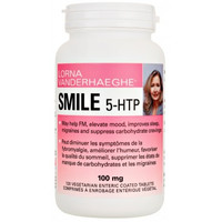 Lorna Vanderhaeghe Smile 5-HTP, 120 Enteric-Coated Tablets | NutriFarm.ca