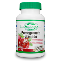 Organika Pomegranate, 60 Vegetable Capsules | NutriFarm.ca