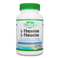 Organika L-Theanine, 90 Vegetable Capsules | NutriFarm.ca