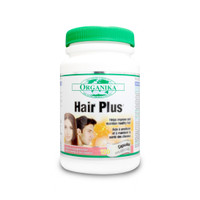 Organika Hair Plus, 120 Vegetable Capsules | NutriFarm.ca