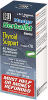 Bell Thyroid Support 726 mg, 90 Capsules | NutriFarm.ca