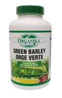 Organika Green Barley 1000 mg, 200 Capsules | NutriFarm.ca
