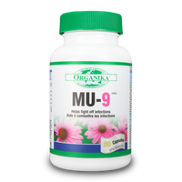 Organika MU-9, 60 Capsules | NutriFarm.ca
