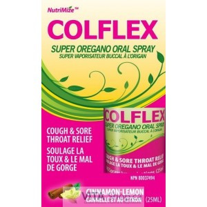 Innotech ColFlex Throat Spray - Cin/Lemon, 25 ml | NutriFarm.ca