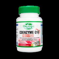 Organika Coenzyme Q10 with Vitamin E and A 100 mg, 60 Softgels | NutriFarm.ca