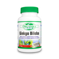 Organika Ginkgo Biloba Extract 60 mg, 120 Vegetable Capsules | NutriFarm.ca