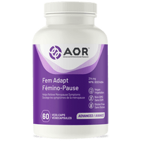 AOR Fem Adapt, 60 Vegetable Capsules | NutriFarm.ca