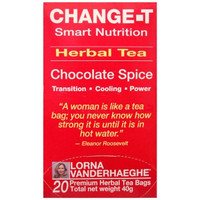 Lorna Vanderhaeghe CHANGE-T Herbal Tea, 20 Tea Bags