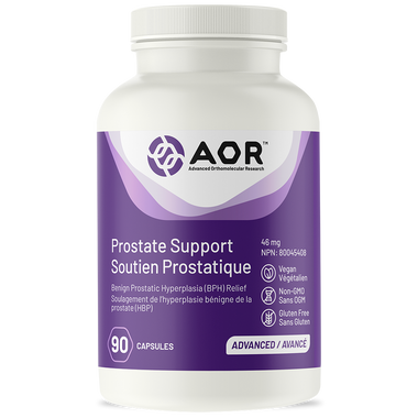 AOR Prostate Support (Formerly Prostaphil-2), 90 Vegetable Capsules | NutriFarm.ca