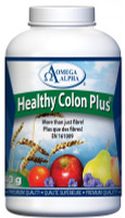 Omega Alpha Healthy Colon Plus, 340 g | Nutrifarm.ca
