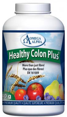 Omega Alpha Healthy Colon Plus, 340 g | Nutrifarm.ca