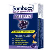 Sambucol Black Elderberry Pastilles, 20 Pastilles | NutriFarm.ca
