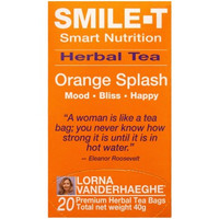 Lorna Vanderhaeghe SMILE-T Herbal Tea, 20 Tea Bags