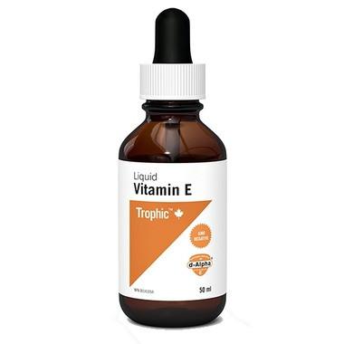 Trophic Liquid Vitamin E, 50 ml | NutriFarm.ca