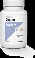 Trophic Chelazome Copper, 90 Caplets | NutriFarm.ca