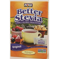 NOW Stevia Extract Packets, 100 Packets 1g each | NutriFarm.ca