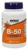NOW Vitamin B-50, 250 Capsules   NutriFarm.ca