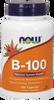 NOW B-100, 100 Capsules | NutriFarm.ca
