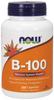 NOW B-100, 250 Capsules | NutriFarm.ca