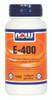 NOW E-400 IU Mixed Tocopherols, 100 Softgels | NutriFarm.ca