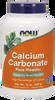NOW Calcium Carbonate Powder, 340 g | NutriFarm.ca