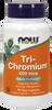 NOW Tri-Chromium 500 mg plus Cinnamon, 90 Vegetable Capsules | NutriFarm.ca