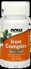NOW Iron Complex, 100 Tablets   NutriFarm.ca