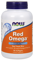 NOW Red Omega, 90 Softgels | NutriFarm.ca