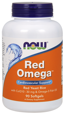 NOW Red Omega, 90 Softgels | NutriFarm.ca