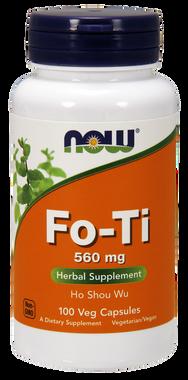 NOW Fo-Ti 560 mg, 100 Capsules | NutriFarm.ca
