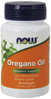 NOW Oregano Oil, 90 Softgels | NutriFarm.ca