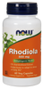 NOW Rhodiola 500 mg, 60 Vegetable Capsules   Nutrifarm.ca