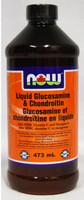 NOW Liquid Glucosamine and Chondroitin with MSM, 473 ml | NutriFarm.ca