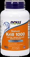 NOW Neptune Krill Oil 1000 mg, 60 Softgels | NutriFarm.ca