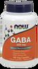 NOW GABA 500 mg with Vitamin B-6,  100 Vegetable Capsules   NutriFarm.ca
