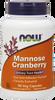 NOW Mannose Cranberry, 90 Vegetable Capsules   NutriFarm.ca