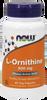 NOW L-Ornithine 500 mg, 60 Vegetable Capsules | NutriFarm.ca
