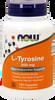 NOW L-Tyrosine 500 mg, 120 Capsules | NutriFarm.ca